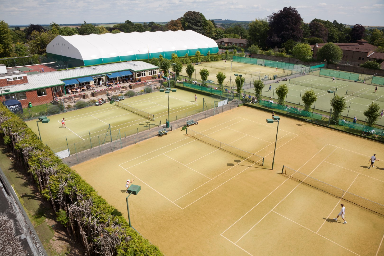 TENNIS - Block bookings slots available