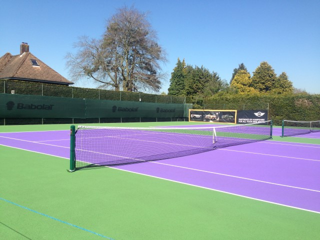 TENNIS - Evening Courts now available