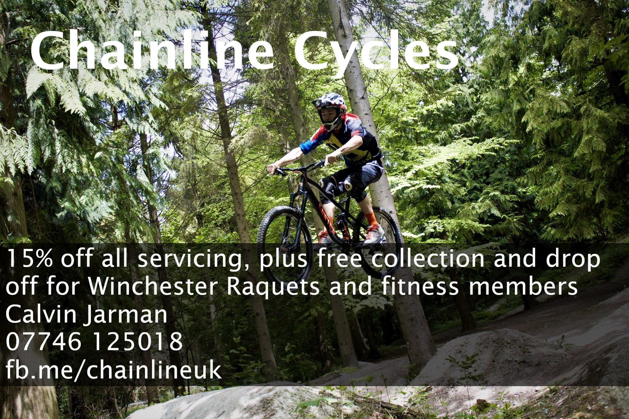 Cycle repairs and maintenance  - special offer for members